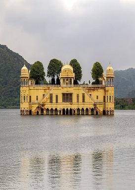 Jal Mahal in Man Sagar Lak
