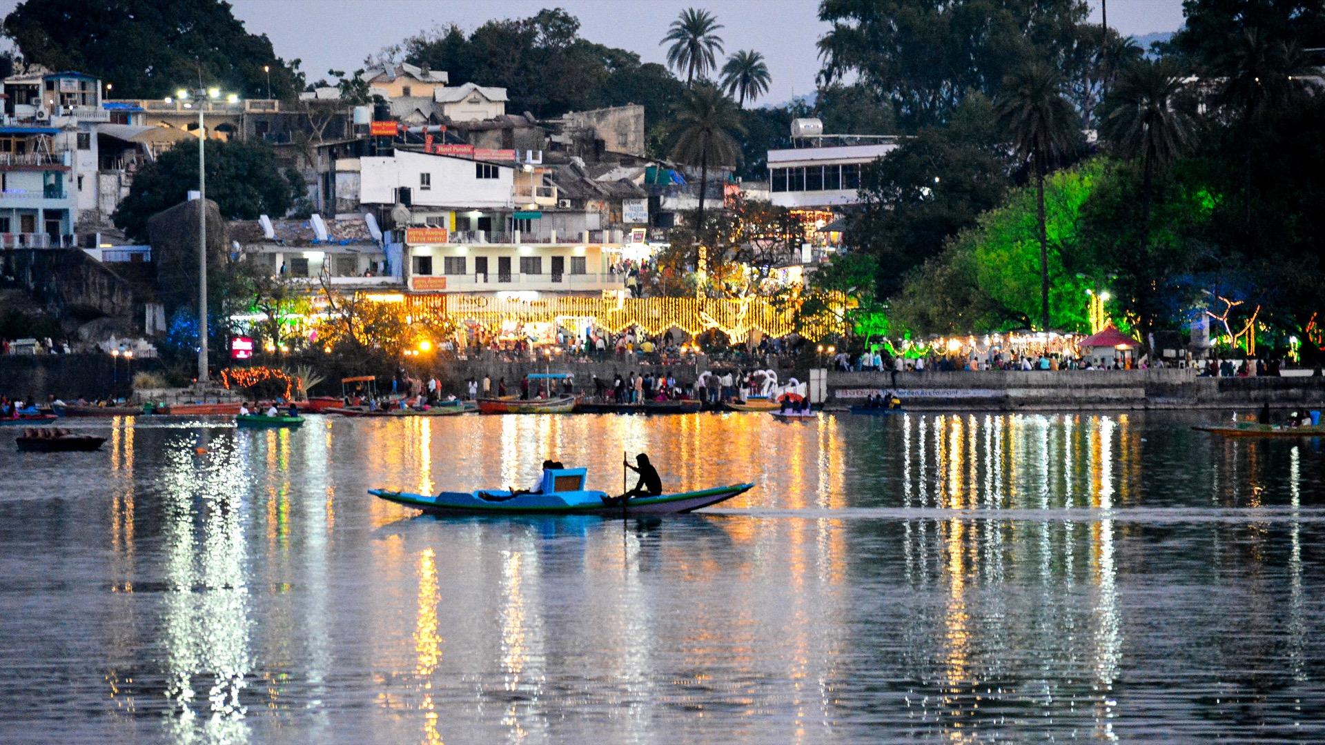 Be The Part Of Winter Festival At Mount Abu