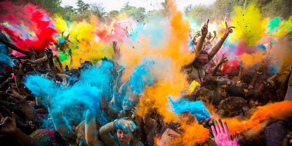 Celebrating The Holi Festival