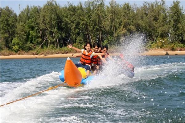 Banana boat ride - Gokarna