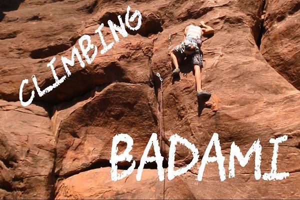 Rock Climbing - Badami