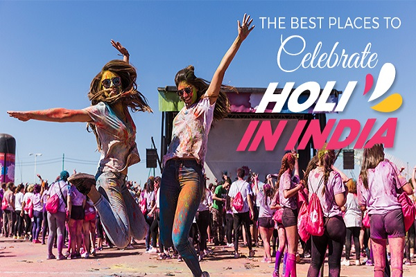 The Best Places to Celebrate Holi in India
