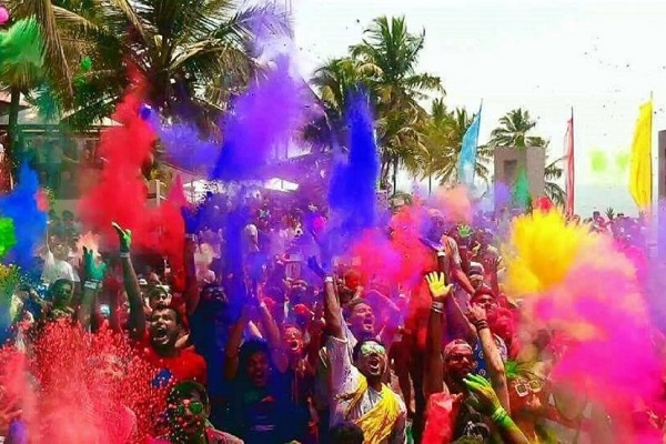 Holi in Goa