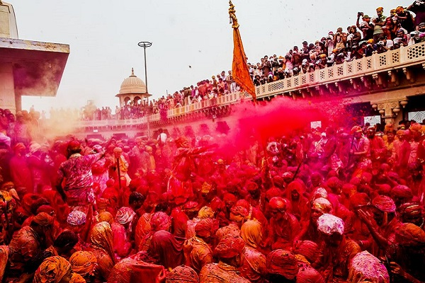 Holi in Mathura & Vrindavan